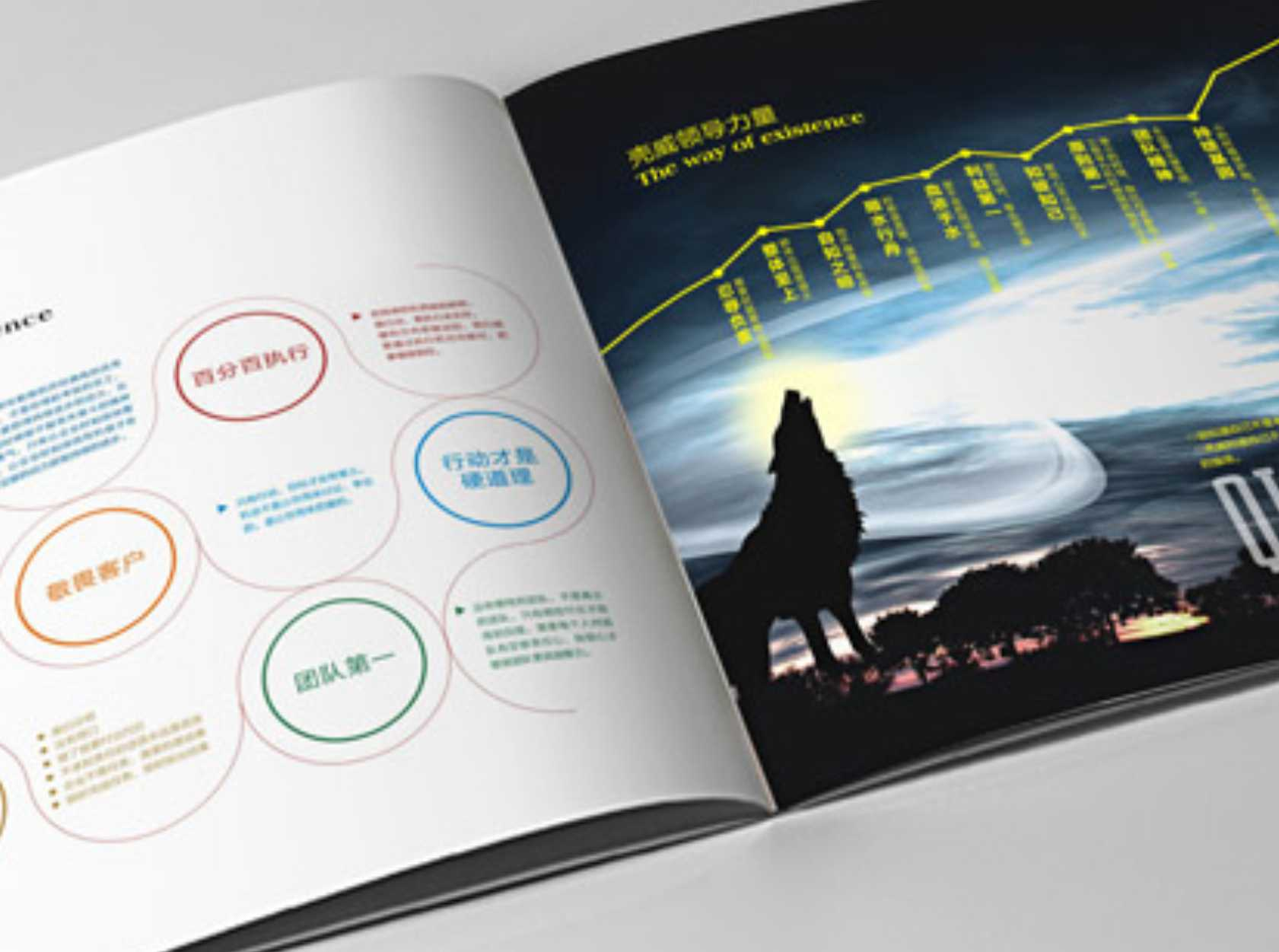 广州画册设计公司 广州集团画册设计